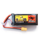 Batterie Lipo 3S 11.1v 1300mAh 50C pour eTurbine TB250 & FPV racer