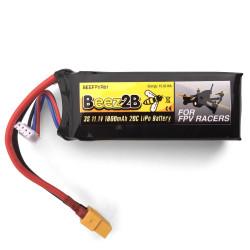 Batterie Lipo 3S 11.1v 1800mAh 20C pour FPV racer