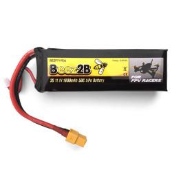 Batterie Lipo 3S 11.1v 1800mAh 50C pour FPV racer