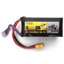 Batterie Lipo 4S 14.8v 1300mAh 50C pour FPV racer