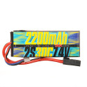 Batterie Lipo 2s 7.4v 2200mAh 30C pour Traxxas 1/16