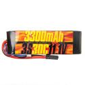 Batterie Lipo 3s 11.1v 3300mAh 30C pour Traxxas 1/10