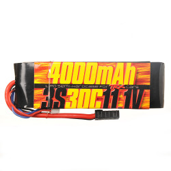 Batterie Lipo 3s 11.1v 4000mAh 30C pour Traxxas 1/10