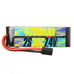 Batterie Lipo 2s 7.4v 4000mAh 30C pour Traxxas 1/10