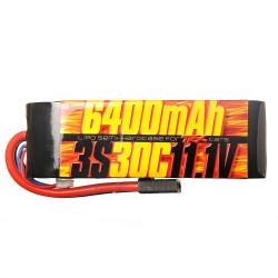 Batterie Lipo 3s 11.1v 6400mAh 30C pour Traxxas 1/10