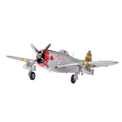 Avion 1700mm P47 (argent) kit PNP