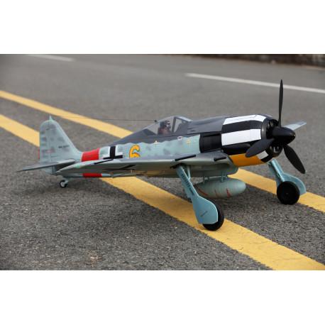 Avion 1400mm FW190-A8 (Jaune) kit PNP