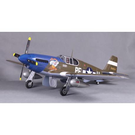 Avion 1450mm P51-B Dallas Darling (V8) kit PNP