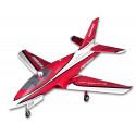 Jet 80mm EDF Futura Red PNP kit