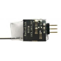 R6DSMicro (1g) 2.4Ghz 10Ch S.Bus Receiver (DSSS + FHSS)