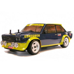 FIAT 131 ABARTH Oliofiat 1981 1/10 RC car RTR Kit with Lights