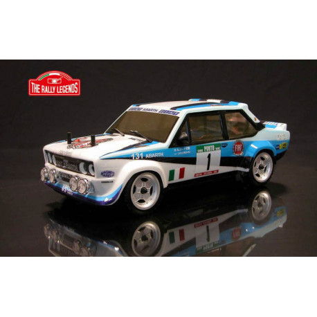 FIAT 131 ABARTH WRC 1981 1/10 RC car ARTR kit