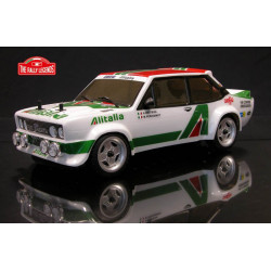 FIAT 131 ABARTH Alitalia 1978 1/10 RC car ARTR Kit