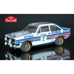 FORD ESCORT RS 1800 Rothmans 1981 1/10 RC car ARTR Kit