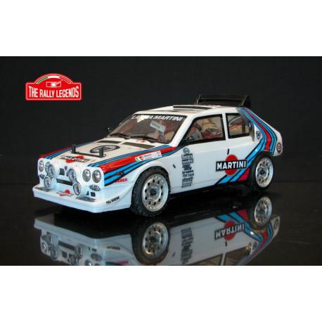 LANCIA DELTA S4 Martini 1986 1/10 RC car ARTR Kit