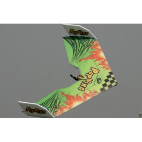 Popwing Green 900mm ARF wing plane kit (w/esc, motor & 2 servos)