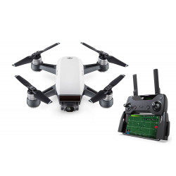 DJI Spark Mini Drone Fly More Combo Alpine White