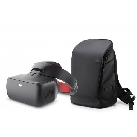DJI Goggles Racing-Edition FPV-Videobrille + DJI Goggles Carry More Backpack