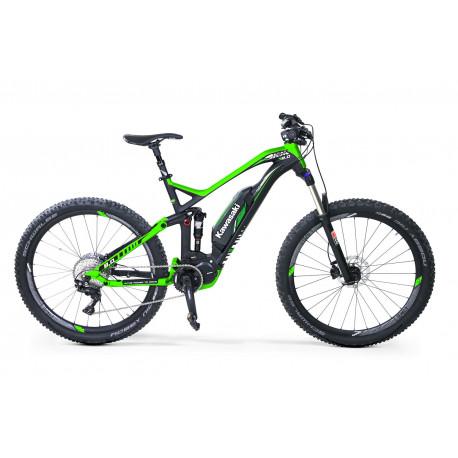KAWASAKI KSX 8.0 Full Suspension Mountain Bike 27.5+ SHIMANO STEPS 8000 green