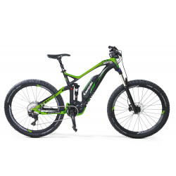 KAWASAKI KSX 8.2 Full Suspension Mountain Bike 27.5+ SHIMANO STEPS 8000 green