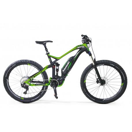 KAWASAKI KSX 8.2 Full Suspension Mountain Bike 27.5+ SHIMANO STEPS 8000 green
