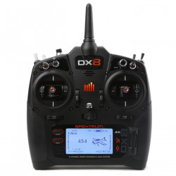 DX8 8-Channel DSMX Transmitter Gen 2, Mode 2 (SPMR8000)