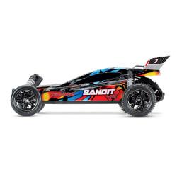 BANDIT Rock n' Roll - 4x2 - 1/10 VXL BRUSHLESS - TSM - SANS AQ/CH (TRX24076-4)