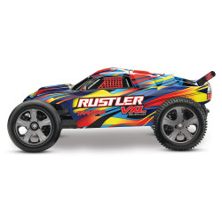 RUSTLER Rock n' Roll - 4x2 - 1/10 VXL BRUSHLESS - TSM - SANS AQ/CH (TRX37076-4)