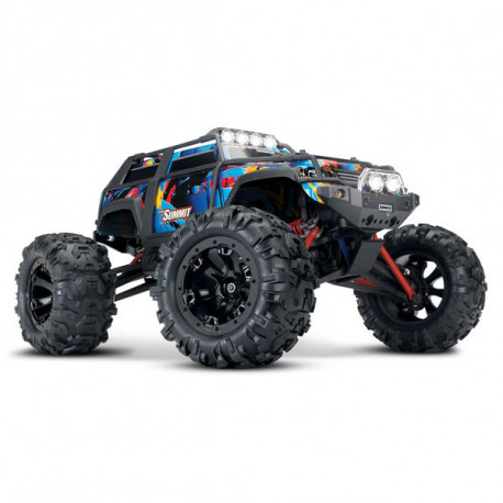 SUMMIT Rock n' Roll - 4x4 - 1/16 BRUSHED AVEC BATTERIE ET CHARGEUR (TRX72054-1)