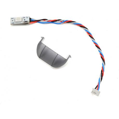 Q500 4K LED rouge arriere (sous moteur) et cache gris (YUNQ4K120)