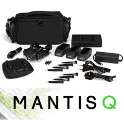 Yuneec Mantis Q bag and 3 batteries EU