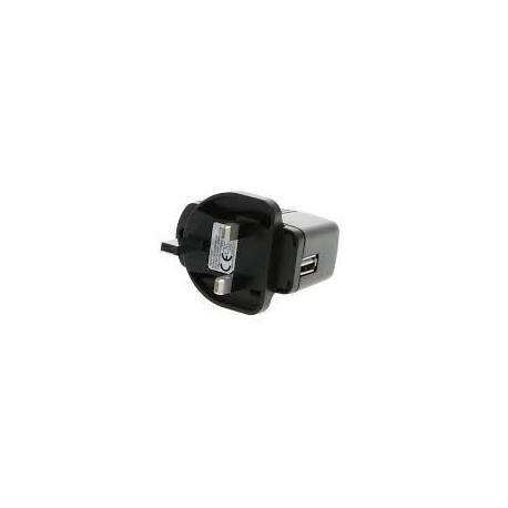 Adaptateur PS501 Secteur 100-240 V vers USB 5V continu, 5 A, prise UK
