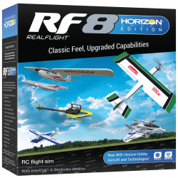 RealFlight 8 Simulator HH Edition with InterLink-X Controller (RFL1000)