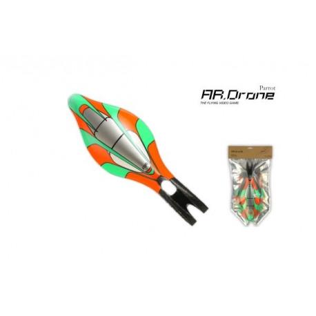 Parrot ARD - Carène extérieure Verte pour AR Drone (PF070003AA)