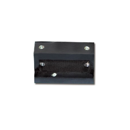 Skid landing fixing block