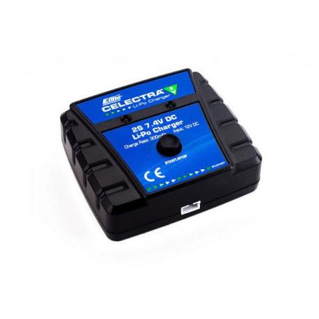 Chargeur LiPo Celectra 2S 7.4V DC (12v) (batterie7.4v) (EFLUC1007)