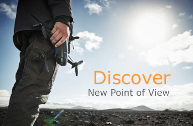 Prenez de la hauteur avec votre drone et partez à l'aventure